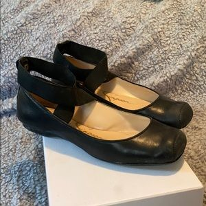 Jessica Simpson Black Mandalaye Ballet Flats 6